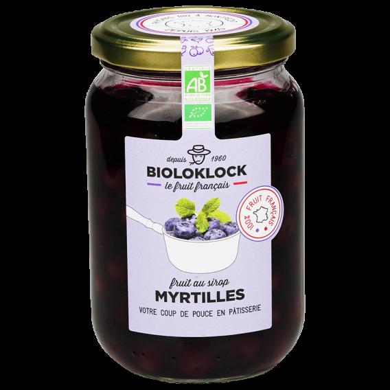 Myrtilles (ou Bleuets) au sirop - FRANCE
