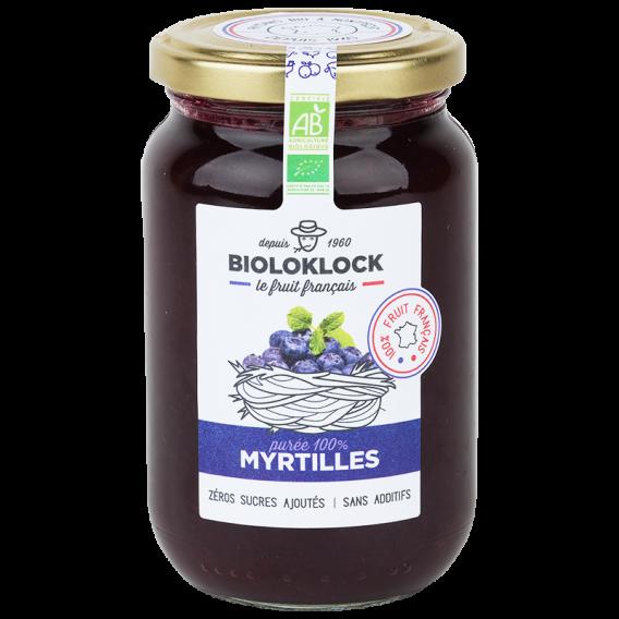 Purée de myrtilles - 100% myrtilles