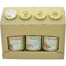Coffret Noël confiture Fruits Rouges