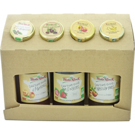 Coffret Chandeleur confiture Nectarines