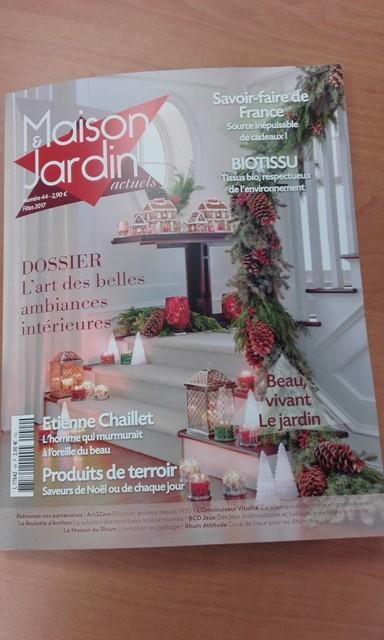 Maison et Jardin actuel n° 44 - couverture